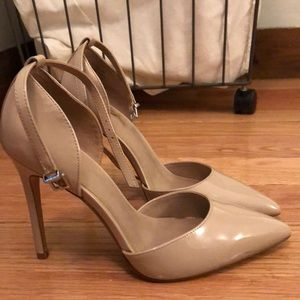 Cream Pointed Toed Heels Mix No. 6